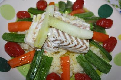 ricetta cous cous pesce verdure