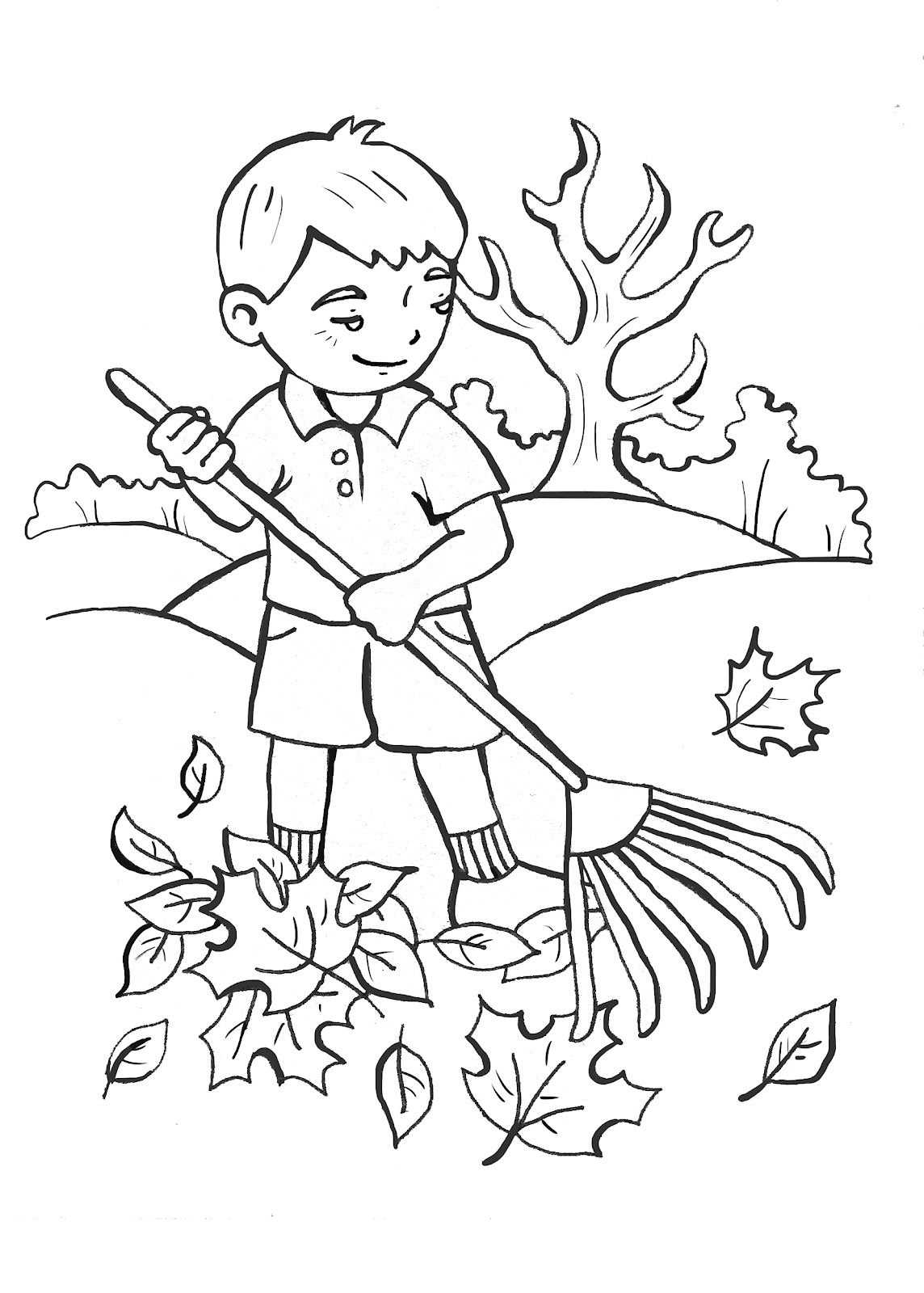Service Free Coloring Pages