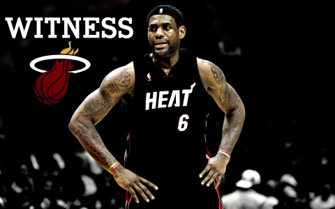 lebron james heat pictures. Lebron James and the Miami