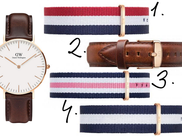My Favourite Daniel Wellington Straps + Discount Code