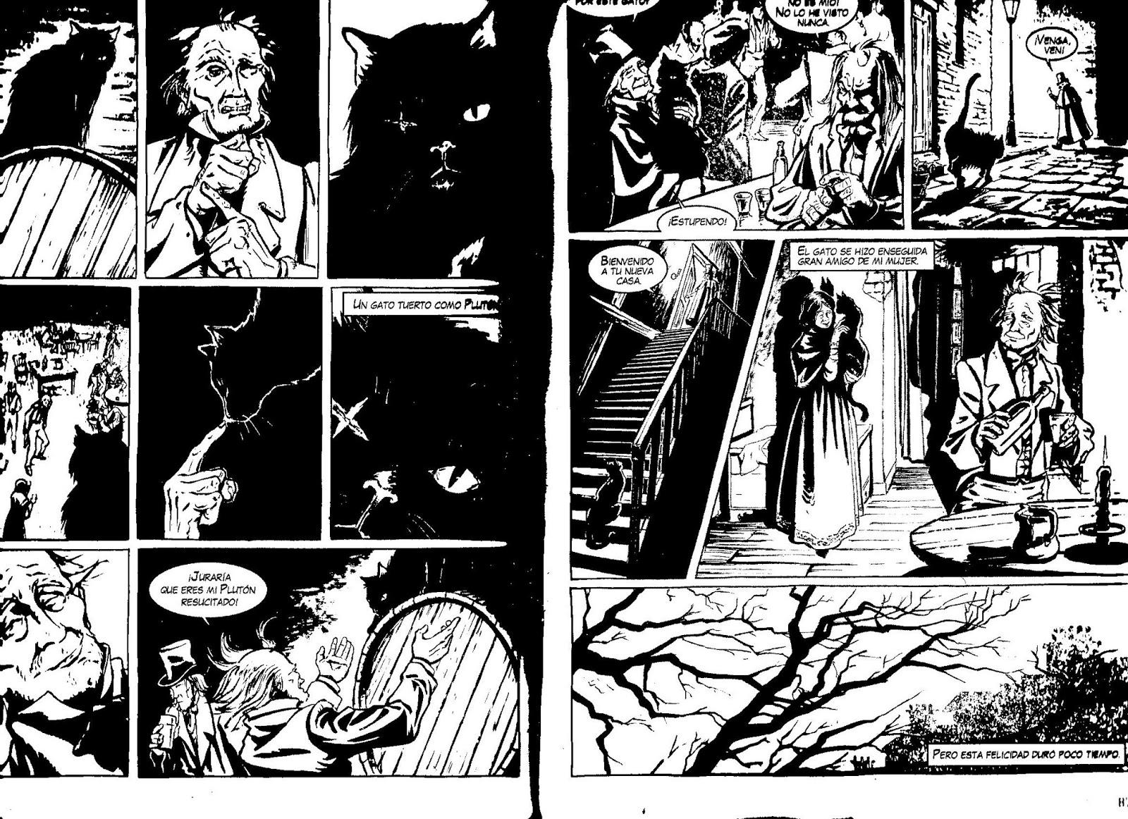 La historieta un mundo por conocer el gato negro e a - El gato negro decoracion ...