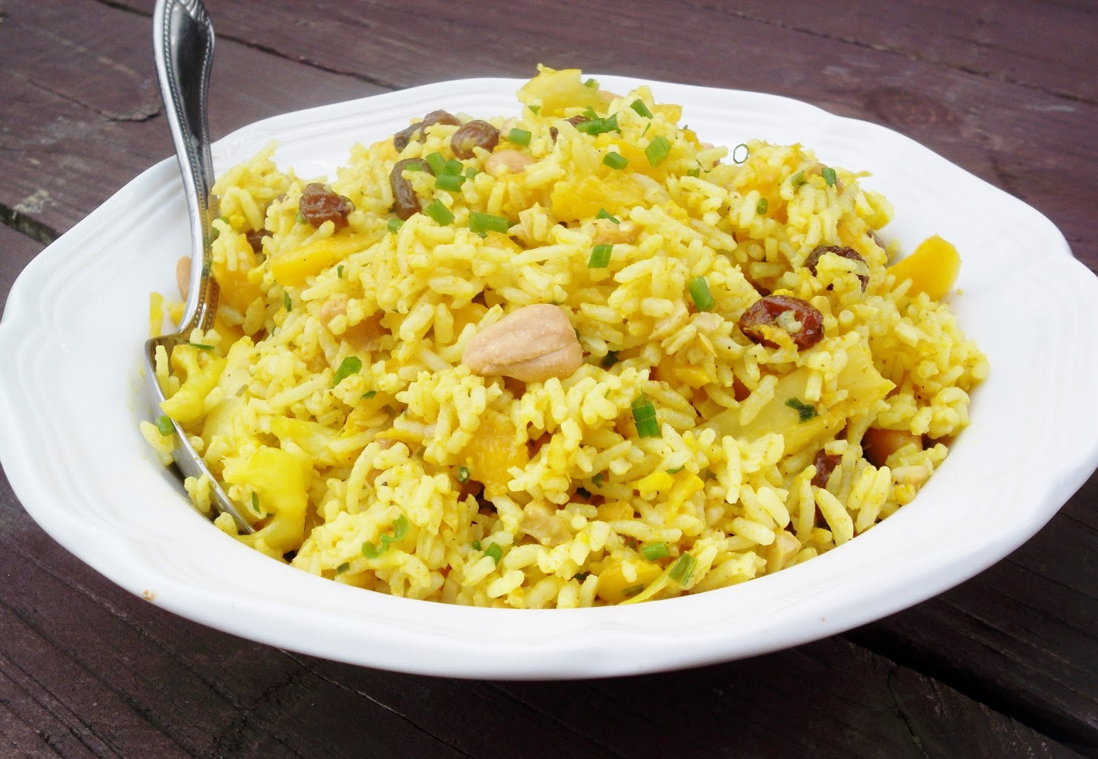 Beautiful Mess: Curried Rice Salad with Cauliflower, Mango and ...