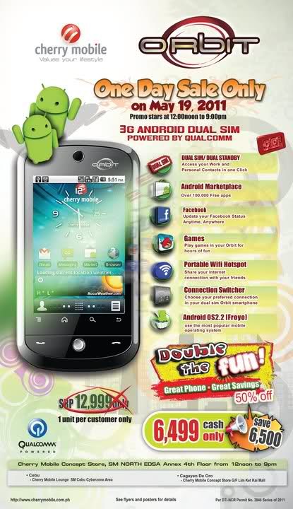 Cherry Mobile complete list