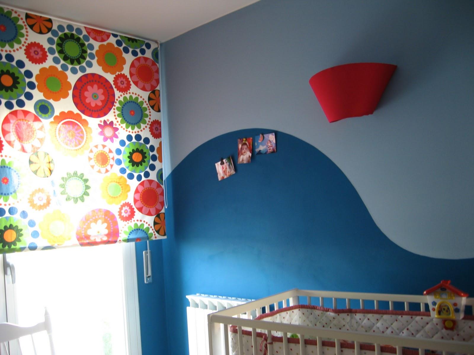 La forma delle nuvole decorare la cameretta dei bambini for Pittura pareti cameretta bambini immagini