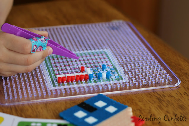 Turn your kids' perler bead creations into cute magnets.