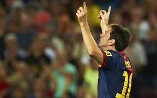 اهداف مباراة برشلونه وريال سوسيداد 5-1 في الدوري الاسباني 19-8-2012