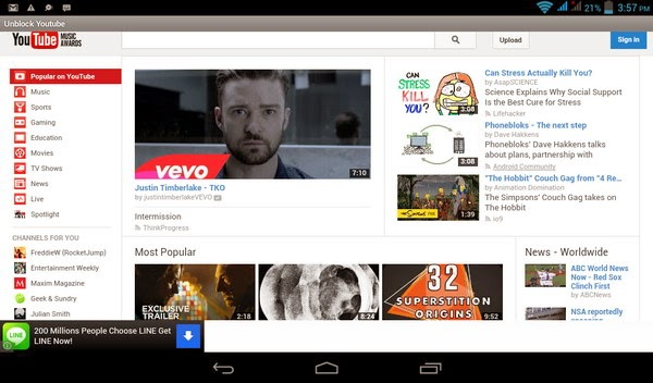 Smart & Mobile Pakistan: Unblock YouTube on Android Smart Phones and