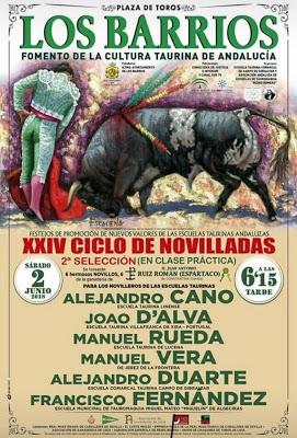 LOS BARRIOS (ESPAÑA) 02 JUNIO ESCUELA JOSÉ FALCÄO V.FRANCA DE X. PRESENTE EN XXIV CICLO.