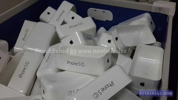 Gambar kotak Apple iPhone 5c