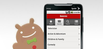 htc evo gingerbread netflix happy