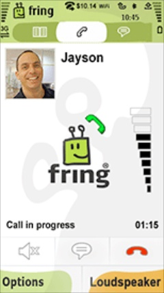 fring Screenshot