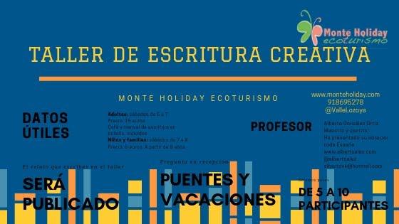 Taller de Escritura Creativa Monte Holiday