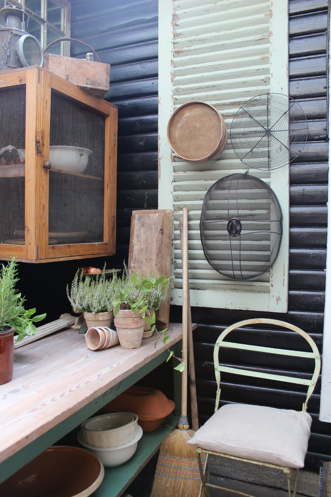 K&Co. Antiques´s blog.: Gamle skodder og havelåger...