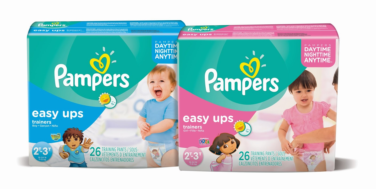 Pampers Easy Ups Summer Fun Prize Pack