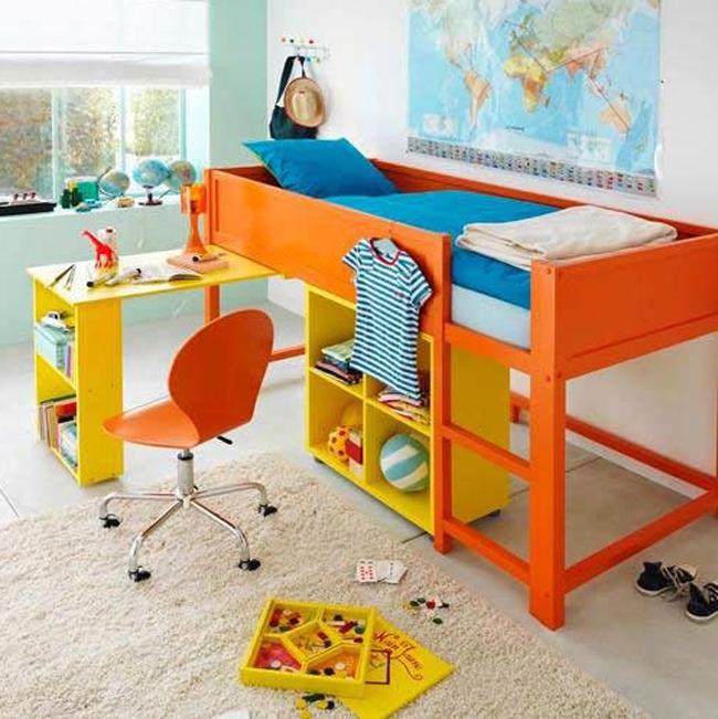 Mcompany style m deco ideas con la cama kura de ikea - Literas 3 camas ikea ...