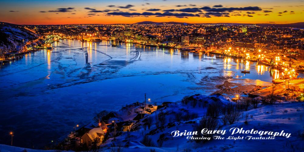 Photography by Brian Carey St John's Newfoundland
