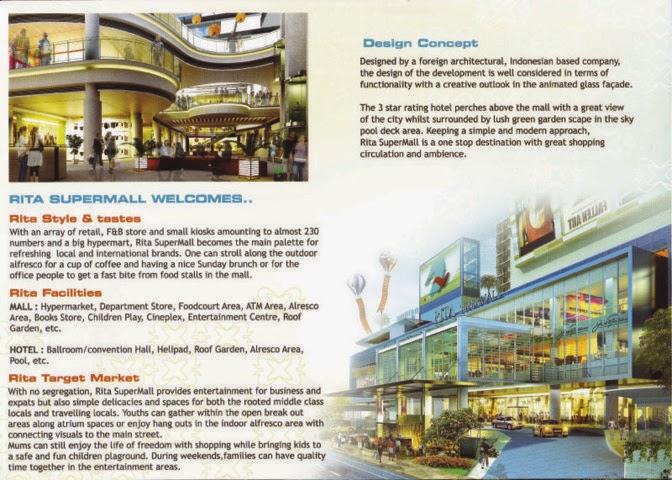 Rita Supermall Purwokerto Specification (Facilities)