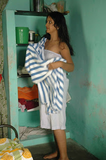 Tamil Actress Archana Sharma in Towel Hot Photos