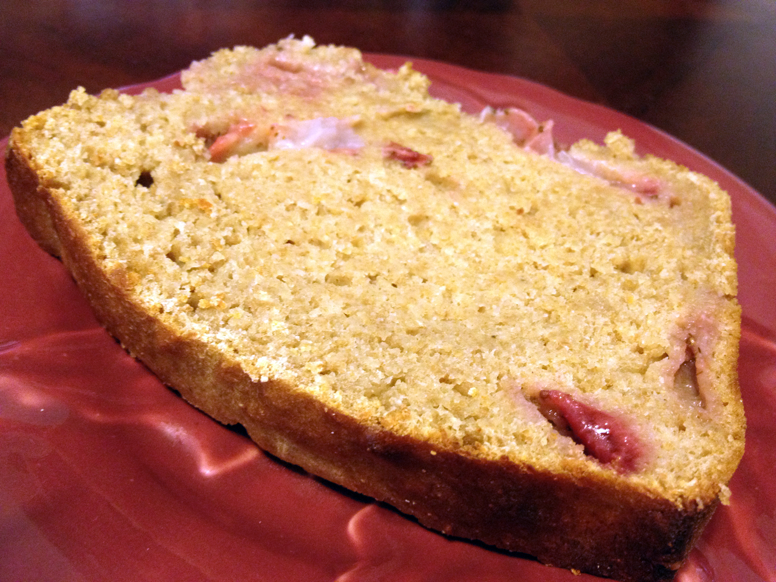 Barb's Recipe Basket: Strawberry Banana Bread with Greek Yogurt