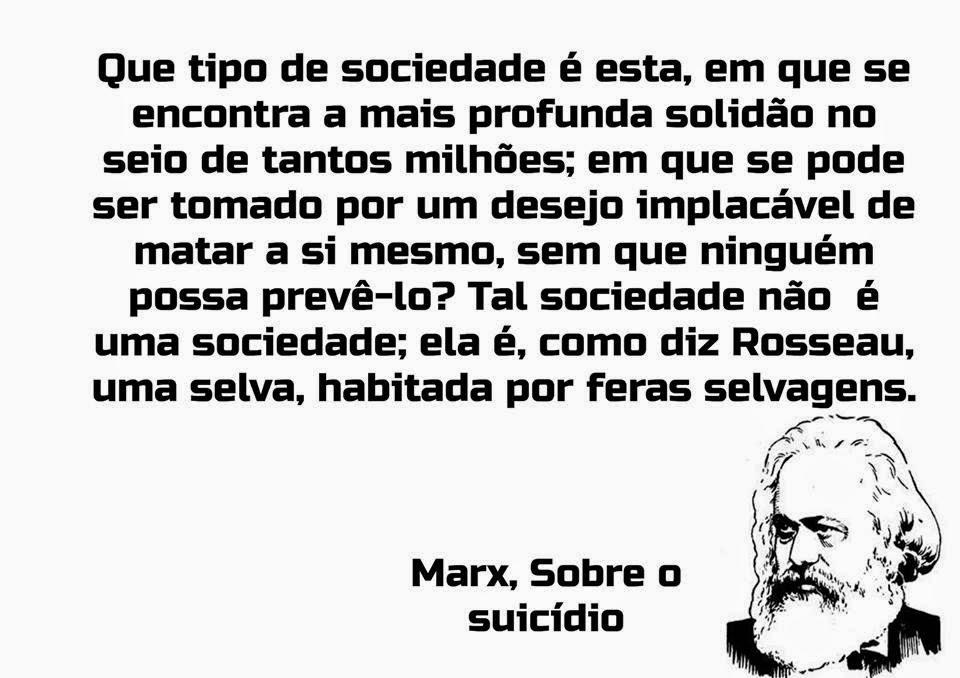 Marx e o suicídio