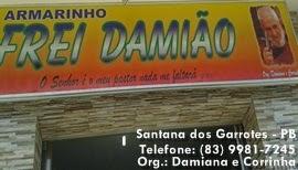 Armarinho FREI DAMIÃO - EM SANTANA DOS GARROTES - FAÇA UMA VISITA