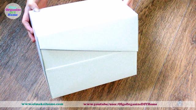 коробка своими руками