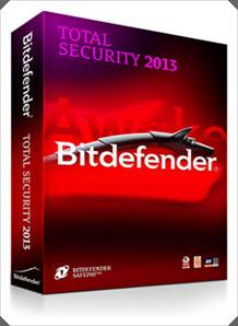 Download Bitdefender Total Security 2013 x64 e 86x + Ativador