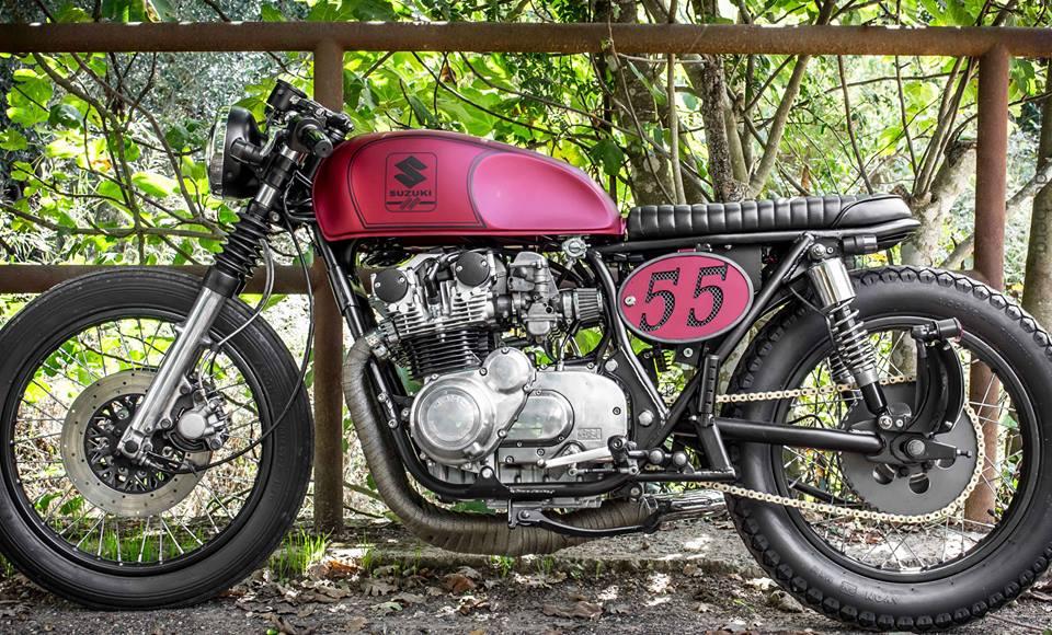 ϟ Kustom ϟ: Suzuki GS550 1979 By Brat Box Caferacersalento