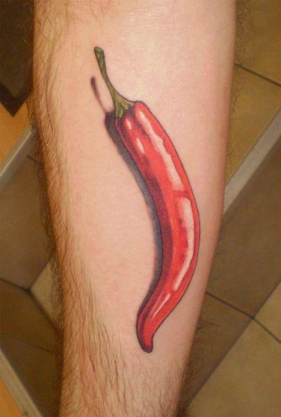 Tatuaje ají picante