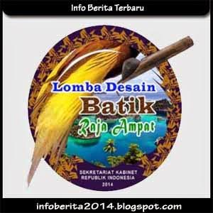 Lomba Desain Batik Raja Ampat 2014