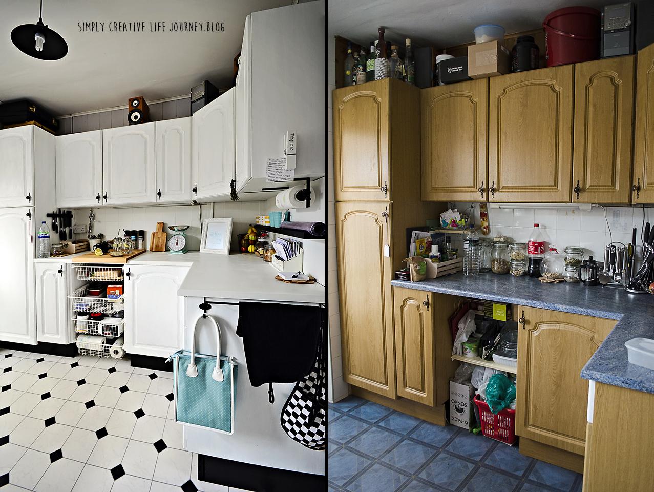 Simply Creative Life Journey K I T C H E N  M A K E O V   -> Kuchnia Bez Kafelek