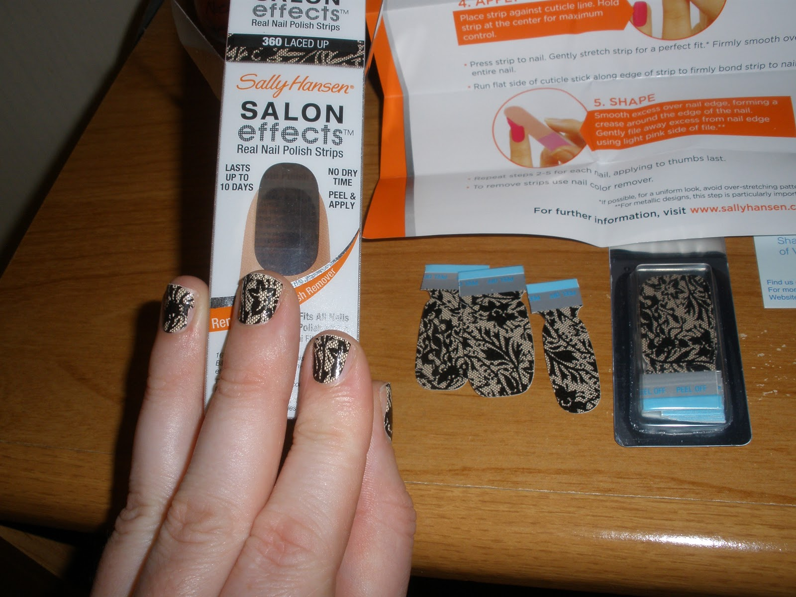 Sarah Jane\'s Potions and Poultices: Sally Hansen Salon Effects Real ...