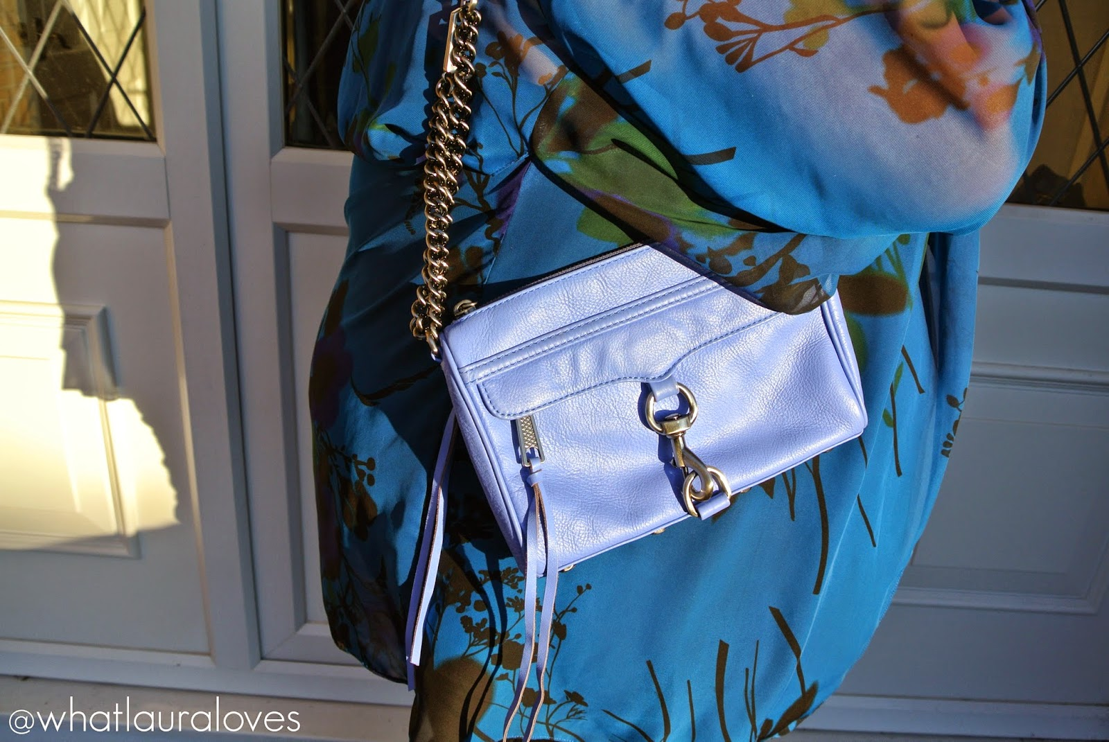 Rebecca Minkoff Mini Mac Bag in Twilight