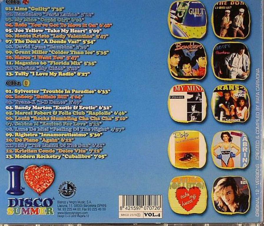 VA - I Love Disco Summer 4 (2012)