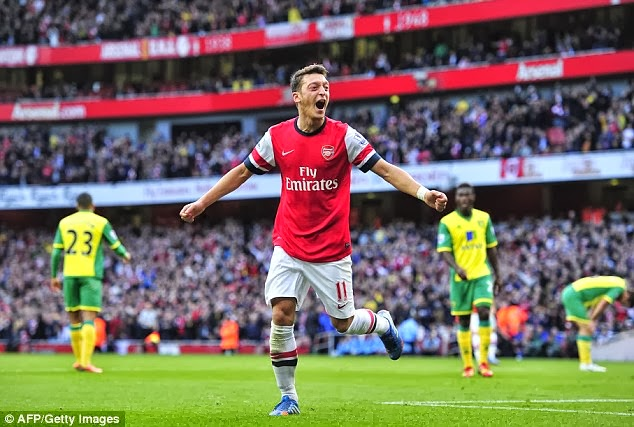 Arsenal 4 Norwich 1