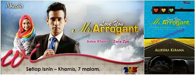 LOVE YOU MR. ARROGANT - ALIESHA KIRANA