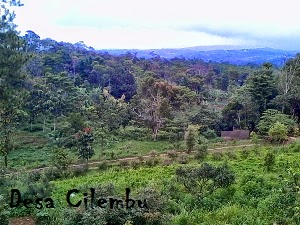 Panorama Alam Desa Cilembu