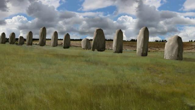 Arqueólogos descobrem 'super Stonehenge' cinco vezes maior que o original