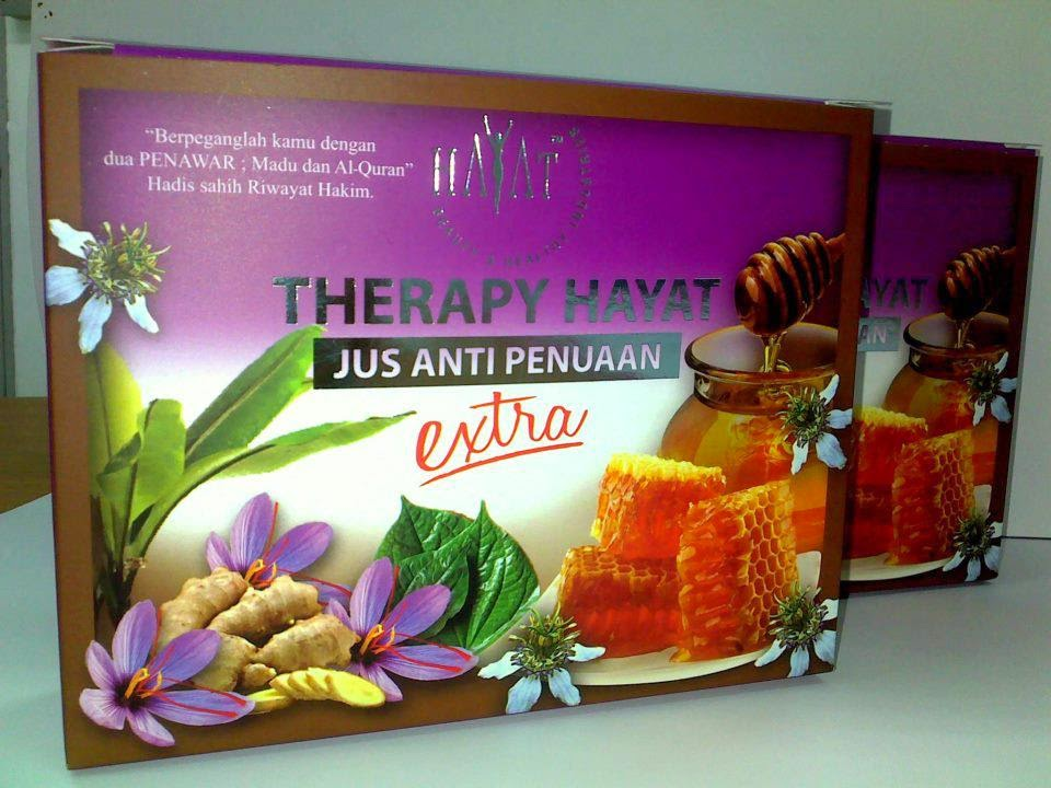 Jus Anti Penuaan  - Therapy Hayat
