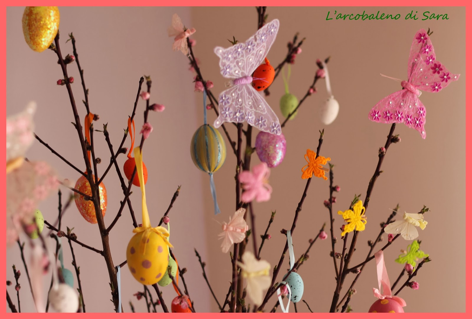 uova decorate per Pasqua