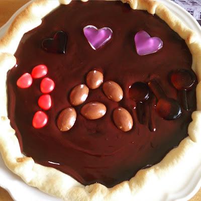 Tarte au chocolat ultra facile dessert - Tarte aux chocolat facile ...