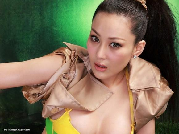 Girls Beauty Wallpaper Zhang Xinyu 52