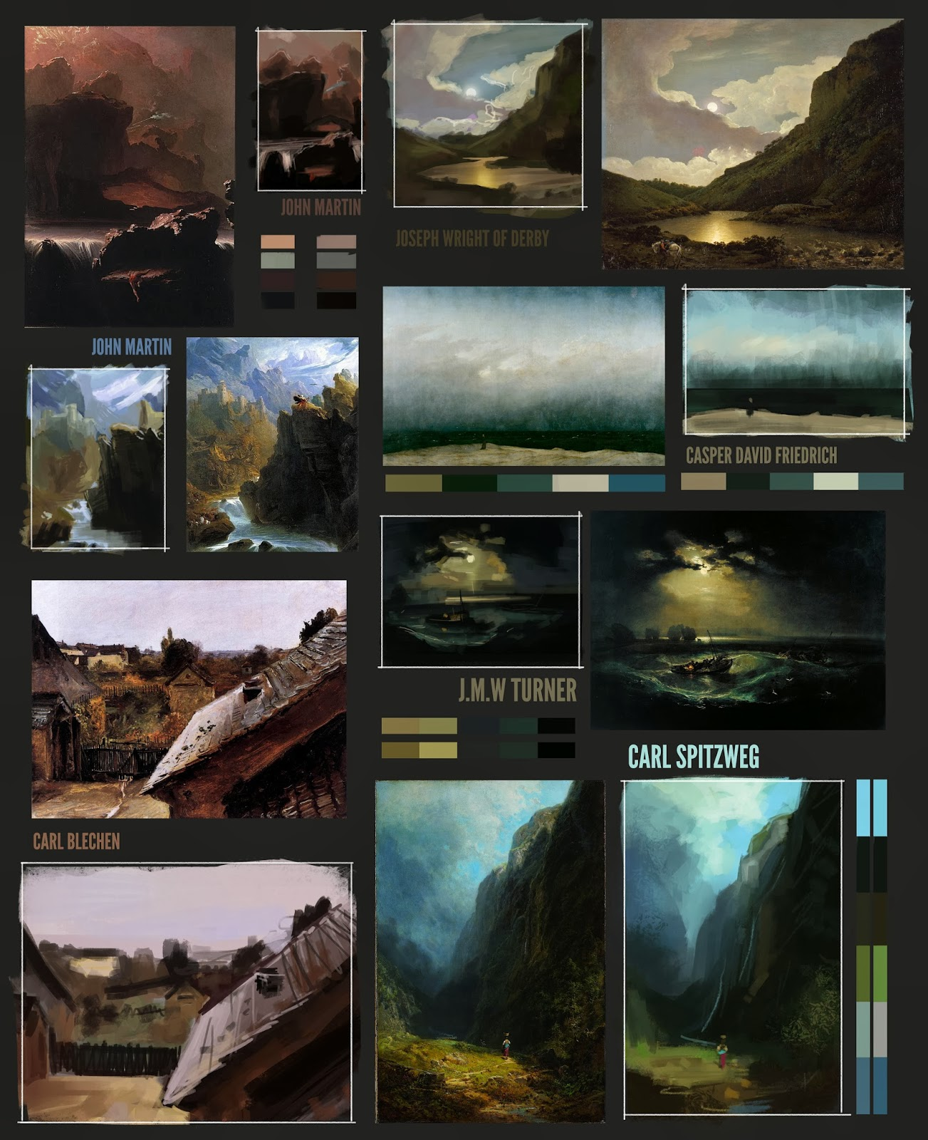 The art of jordan buckner colour comps master studies of these in a couple of weeks with some tutorial work to demonstrate certain ideas but for anyone who is struggling with an aspect of digital painting baditri Images