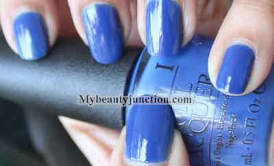 OPI Dating A Royal nail polish swatch and review