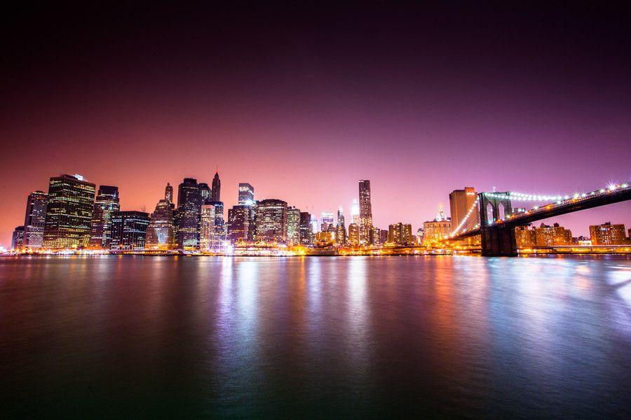 8. Night York City by Garðar Ólafsson