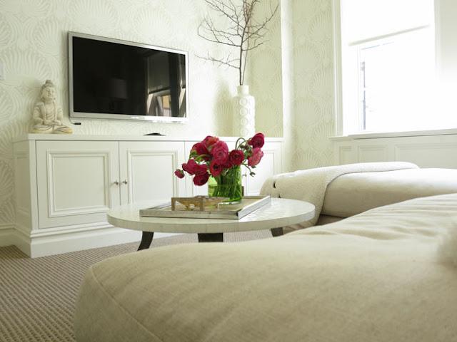 Bedroom Painted In Winborne White