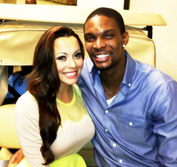 Chris bosh wife and lil wayne