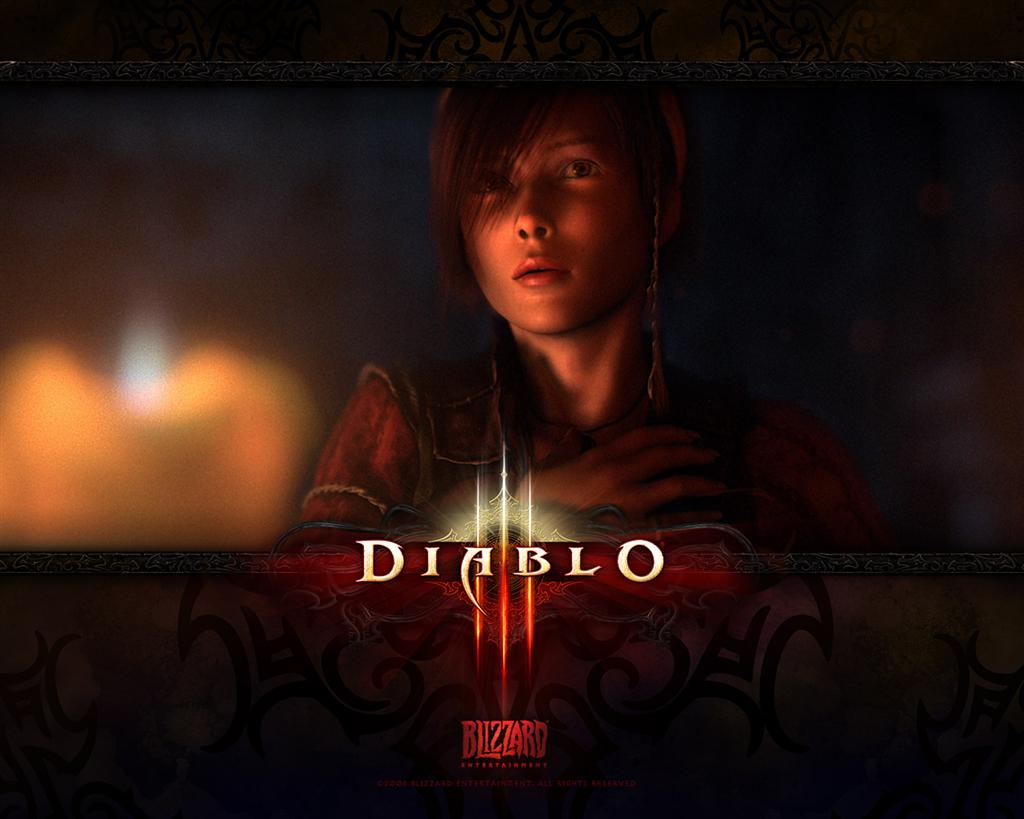 Diablo HD & Widescreen Wallpaper 0.136740790065795