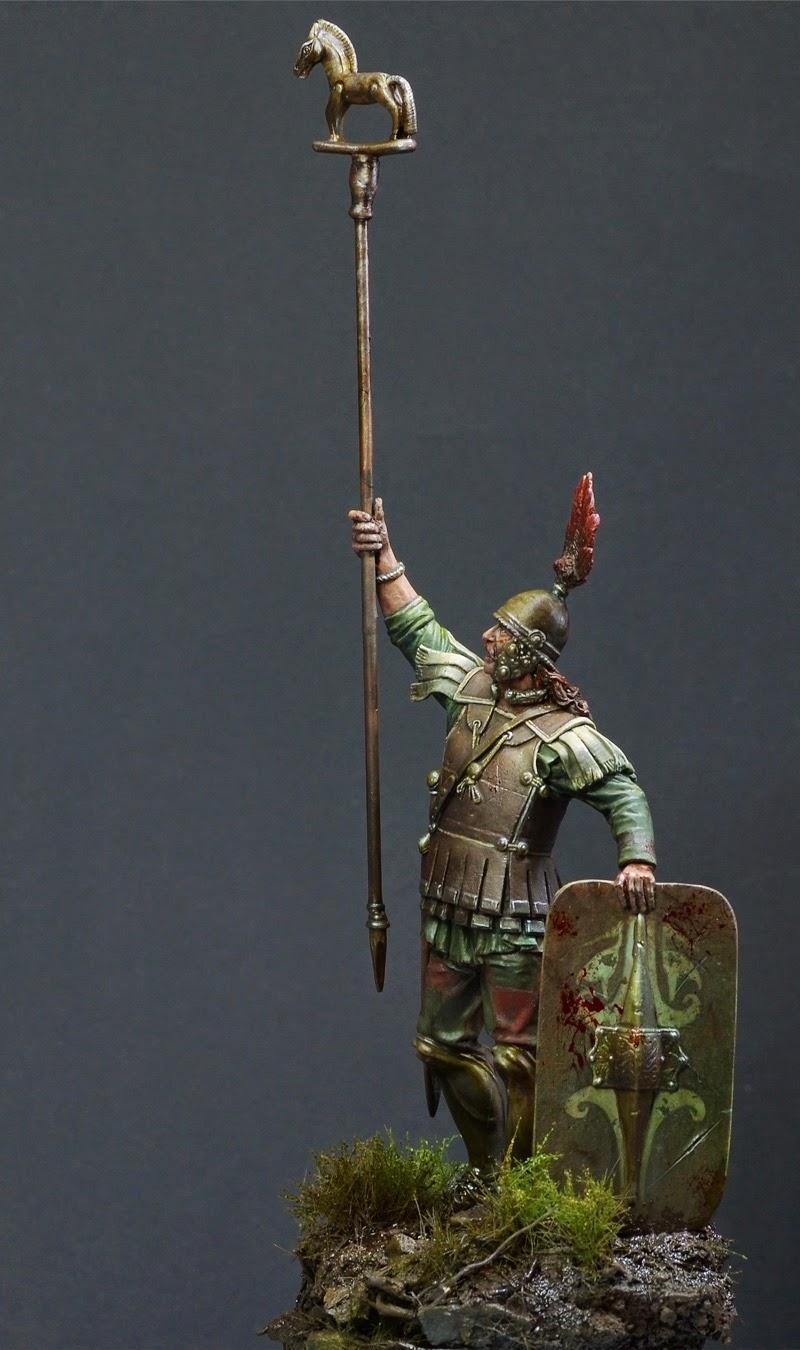Roman Shades Green