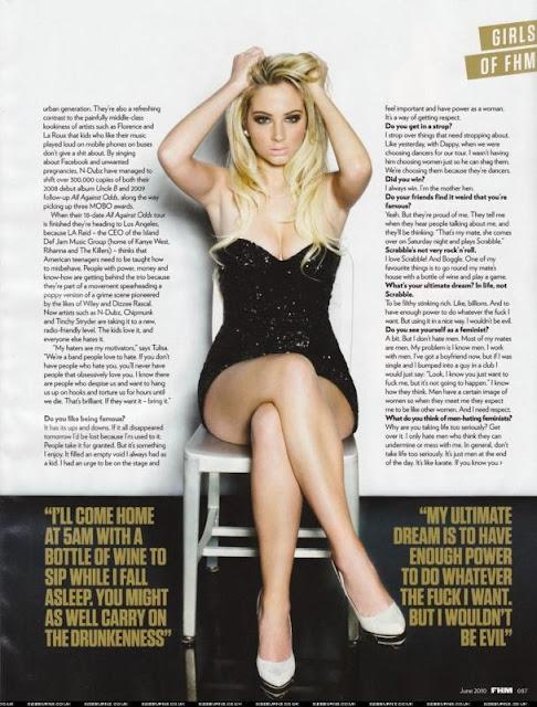 Tulisa Contostavlos - FHM Magazine